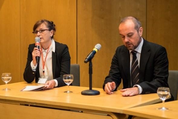 Dr Emanuela Todeva, Chair of the Scientific Committee with Dr Wolfgang Sofka, Copenhagen Business School